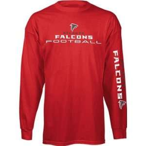 Falcons T Shirt   Long Sleeve Team Shine Tee