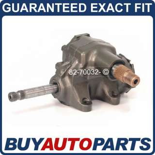 GM CAR MANUAL STEERING GEARBOX GEAR BOX