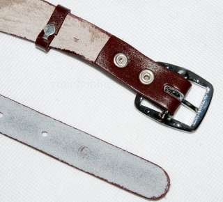 CHINESE ARMY PLA LEATHER BELT AND CROSS SHOULDER STRAP  31812