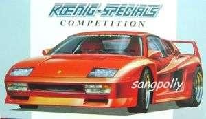 Fujimi 1/24 Ferrari Testarossa Koenig Specials