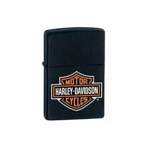 Zippo Harley Davidson Black Matte Lighter Kitchen