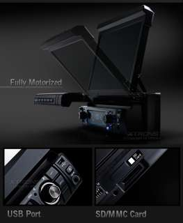 XTRONS D709 7 CAR DVD PLAYER BLUETOOTH IPOD TV USB SD