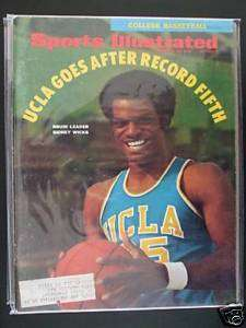 1970 Sports Illustrated UCLA Bruins Sidney Wicks College Basketball