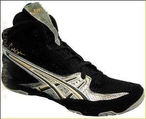 NEW Mens Asics Cael 3.0 Wrestling Shoes Black Gold
