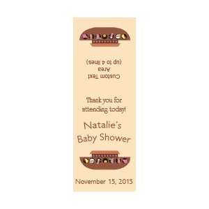 Style 20201 Noahs Ark Baby Shower Label 1.25 x 3.5 Tic Tac Labels