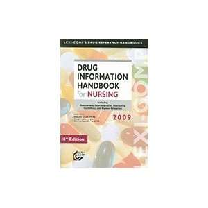 Drug Information Handbook for Nursing 10TH EDITION
