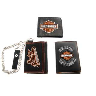 Harley Davidson Officially Licensed Wallet   3 Styles