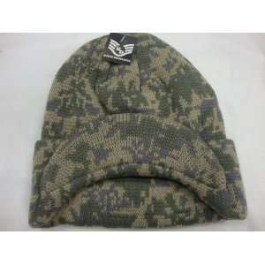 Digital Camo Knitting Cap