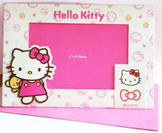 sanrio Hello Kitty frame in 4×6 Photo Card Set #Pink