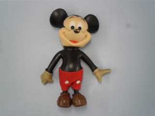 Used 1970s Plastic Mickey Mouse Doll