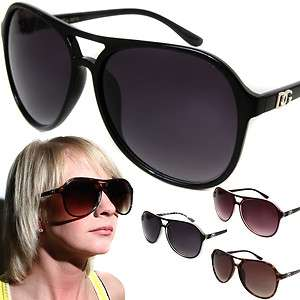 Fashion Aviator Sunglasses Celebrity Oversized Designer Style Shades
