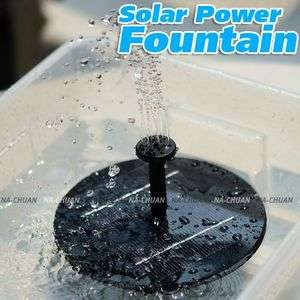 Solar Power Pump Water Floating for Pond Pool Fountain