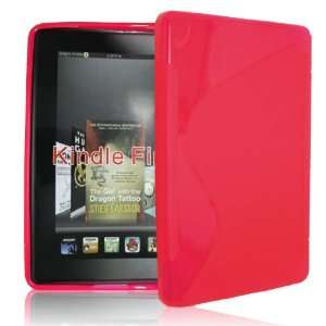 Palace  Pink GEL Skin Case cover pouch for kindle fire Electronics