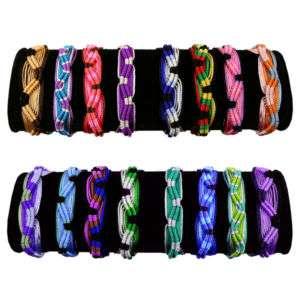 Friendship Bracelets Colorful Handmade Assorted 200 Pack Wholesale