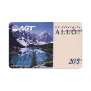 Collectible Phone Card $20. Lake Moraine (Banff, Alberta