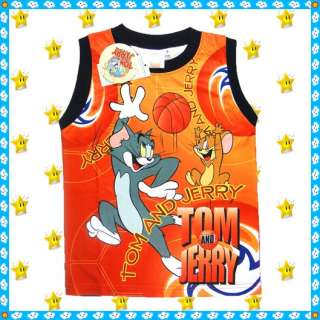 TOM AND JERRY T shirt Top age 3 4 5 6 7 8 8 9 years toys kids boys