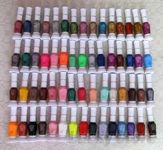 60 Colors 2 Way False Nail Art Tips Varnish Polish Pen Paint Brush Set