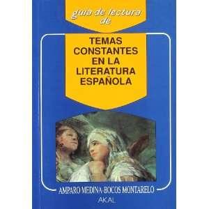 Temas constantes de la literatura española (9788476007297
