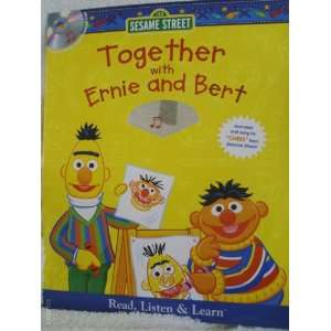 Sesame Street Together with Ernie and Bert (Book & CD