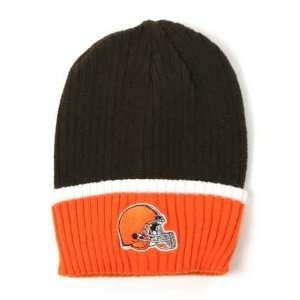Cleveland Browns 2 Tone Ribbed NFL Beanie