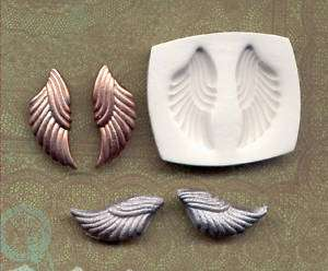 Handmade Polymer Clay Mold A Pair of small Angel wings