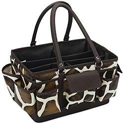 Mackinac Moon Giraffe Animal Print Open top Tote