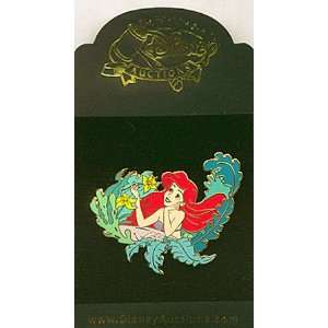 Disney Auction Pin Little Mermaid (Princess Ariel) Among