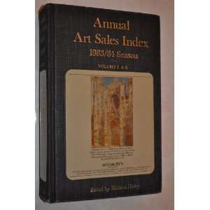 The Annual Art Sales Index 1983/84 [1984]  Oil Paintings