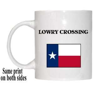 US State Flag   LOWRY CROSSING, Texas (TX) Mug Everything
