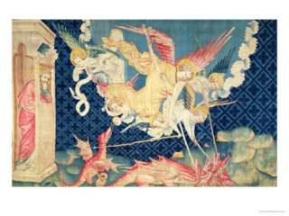 St. Michael and His Angels Fighting the Dragon, No.36 from The