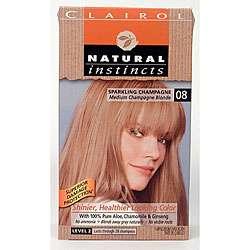 Natural Instincts #08 Sparkling Champagne Hair Color (Pack of 4