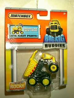 MATCHBOX  ROCKY THE ROBOT TRUCK  BIG RIG BUDDIES