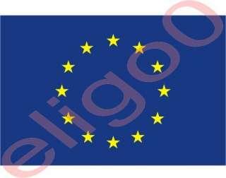 EUROPEAN UNION flag sticker decal nations bumper