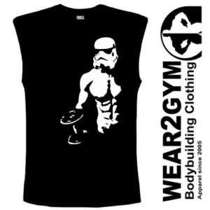 Bodybuilding Clothing Tank Top Vest STORMTROOPER S XXL