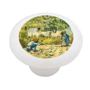 First Steps by Van Gogh Decorative High Gloss Ceramic