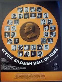 Ad Avedis Zildjian drummers Buddy Rich, Ginger Baker, Alan Dawson