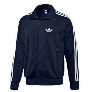 Mens Adidas Originals Adicolor Firebird Track Top Jacket Navy Blue