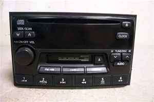 98 99 Nissan Altima CD Player Cassette Radio OEM LKQ