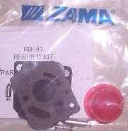 GENUINE ZAMA CARBURETOR REPAIR KIT RB 47 WEEDEATER