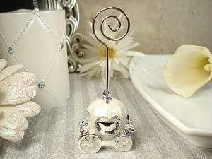 Carriage Coach Place Card Holder Wedding Favors Table Decorations
