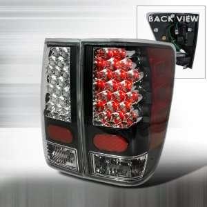 2004 2008 Nissan Titan Led Tail Lights Black Automotive