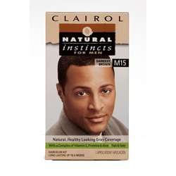 Clairol Natural Instincts For Men #M15 Darkest Brown Hair Color (Pack