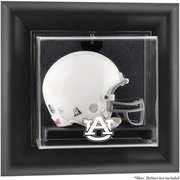 NCAA   Auburn Tigers Framed Wall Mounted Logo Mini Helmet Display Case