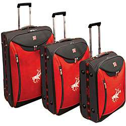 Beverly Hills Polo Club 3 piece Expandable Luggage Set