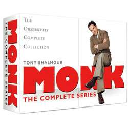 Monk The Complete Series Limited Edition Box Set with Handbook (DVD