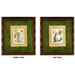 International Arts Coffee Time & Tea Time Framed Artwork