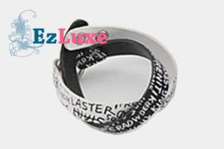 Korean KPOP super junior Double Strap Leather Bracelet
