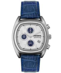 Fossil SpeedWay Mens Chrono Leather Watch