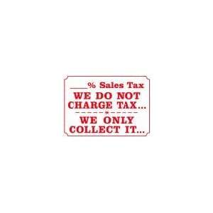SALES TAX WE DO NOT CHARGE TAX WE ONLY COLLECT IT 10x14 Heavy Duty