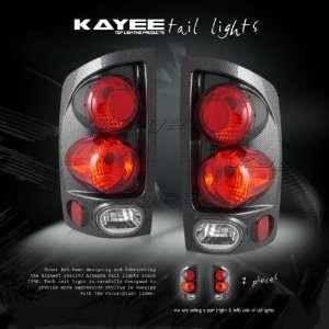 02 05 DODGE RAM 1500 CARBON ALTEZZA TAIL LIGHTS 03 04